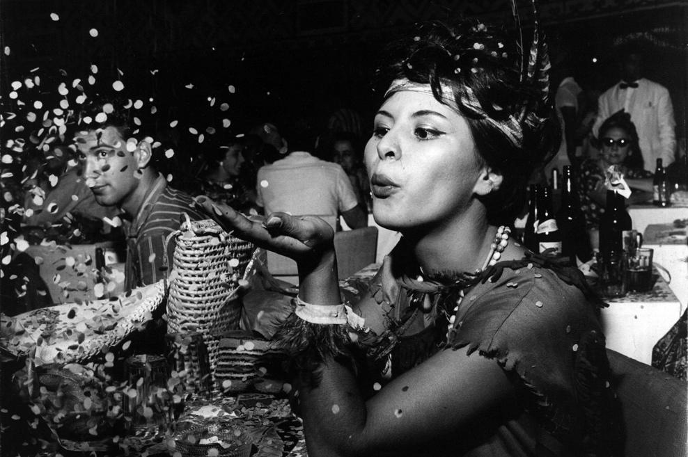 Brasil, São Paulo, SP. Festa de Carnaval de 1961. - Crédito:ARQUIVO/AGÊNCIA ESTADO/AE/Codigo imagem:4976