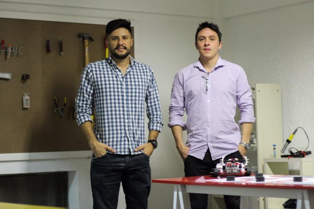 Guilherme Wamucy Createjoy e Gustavo Grossi - credito Glauber Augustto