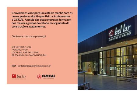 Convite Cimcal e Bel Lar