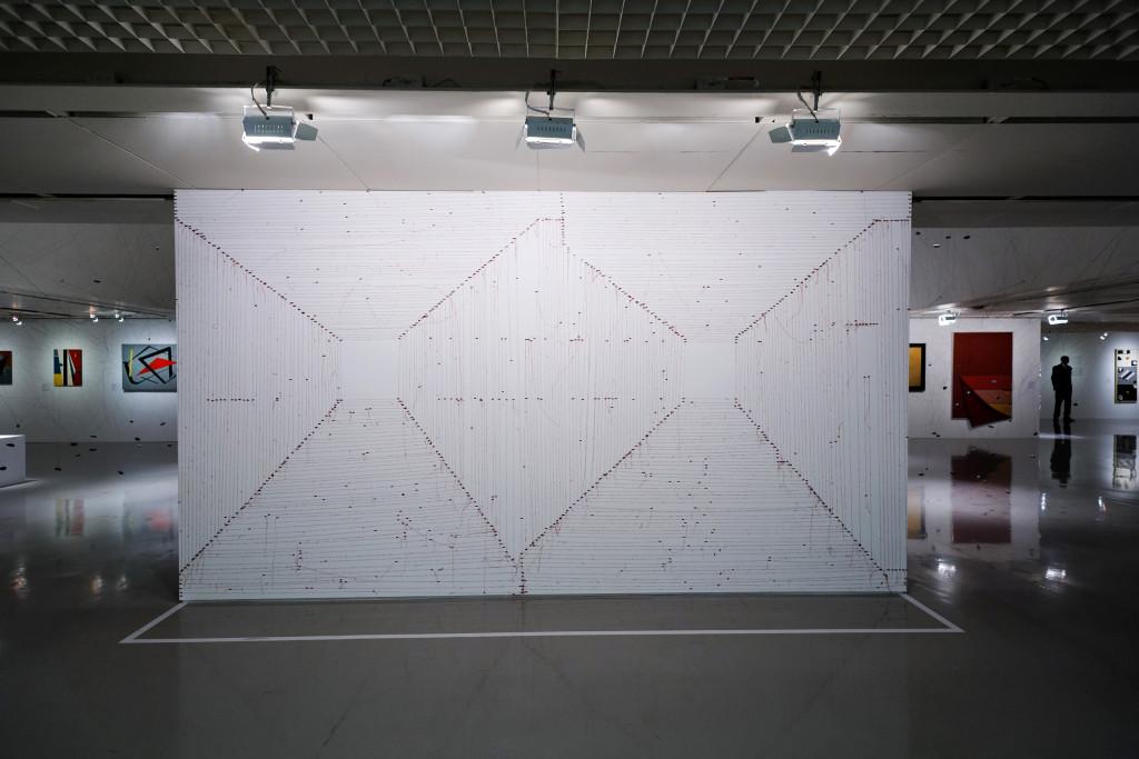Exposição Construções Sensíveis: A experiência geométrica latino-americana na coleção Ella Fontanals-Cisneros Centro Cultural Fiesp 10/04/2017 Foto:Márcia Alves