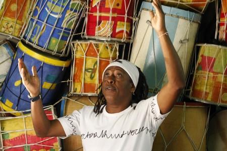 Show de lancamento do DVD de Mauricio Tizumba Mercado Distrital do Cruzeiro Belo Horizonte - MG data: 04.03.2008 fotografo leonardo lara