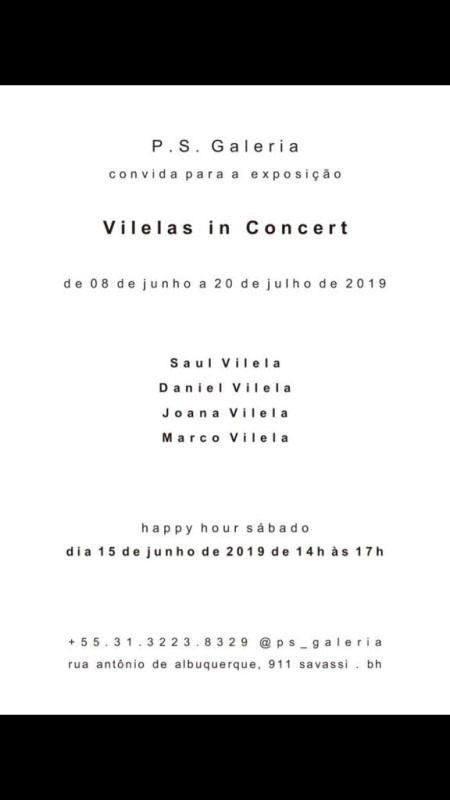 Saul Vilela convite happy hour